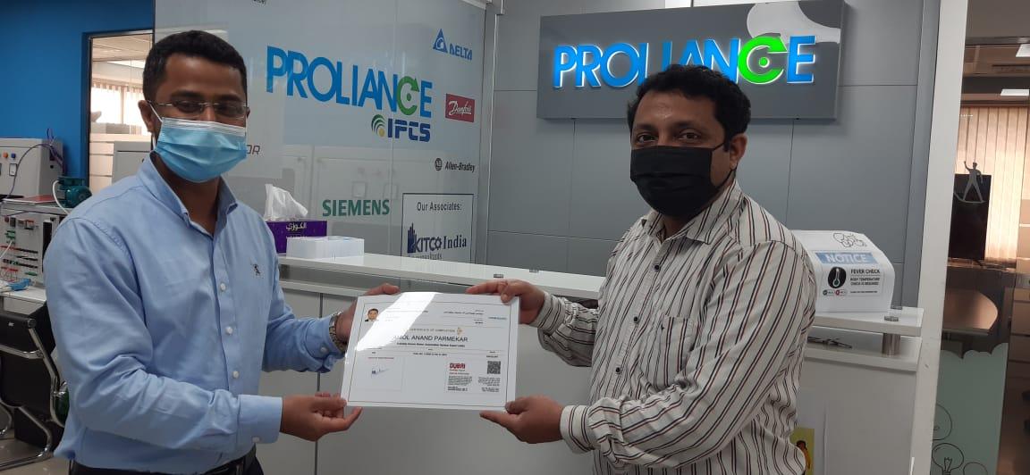 Amol ase - Proliance Automation & Training Solutions (IPCS-Dubai)
