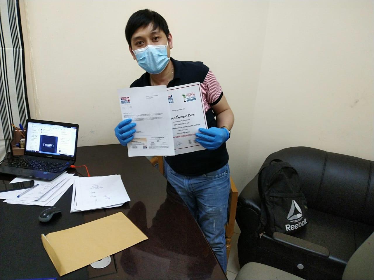 Elbridge - Tareeq Al Waha Food Safety Consultants